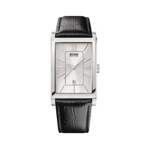 Hugo Boss Herren-Armbanduhr Analog Quarz Leder 1512384
