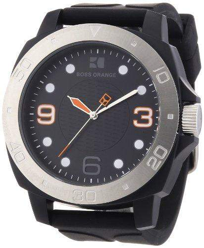 Boss Orange Herren-Armbanduhr Analog Silikon 1512664