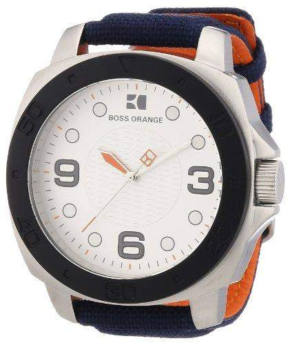 Boss Orange Herren-Armbanduhr Analog Nylon 1512667