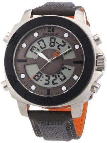 Boss Orange Herren-Armbanduhr Digital Nylon 1512680