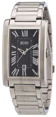 Hugo Boss Herren-Armbanduhr Analog Quarz Edelstahl 1512712