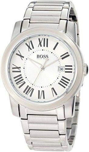 Hugo Boss Herren-Armbanduhr Analog Quarz Edelstahl 1512717
