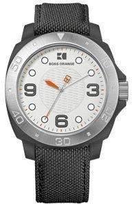 Hugo Boss Herren-Armbanduhr Analog Quarz Edelstahl 1512753