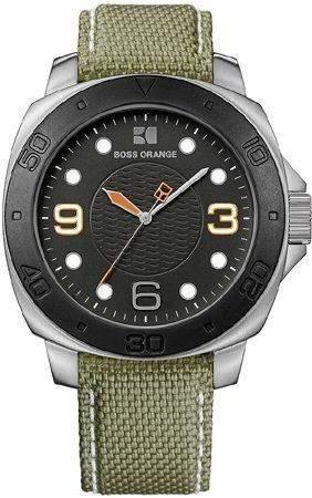 Hugo Boss Herren-Armbanduhr Analog Quarz Edelstahl 1512754