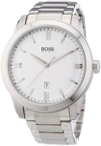 Hugo Boss Herren-Armbanduhr Analog Quarz Edelstahl 1512768