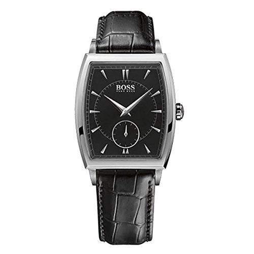 Hugo Boss Herren-Armbanduhr Analog Quarz Leder 1512845