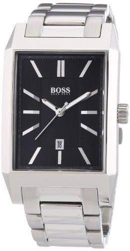 Hugo Boss Herren-Armbanduhr Analog Quarz Edelstahl 1512917