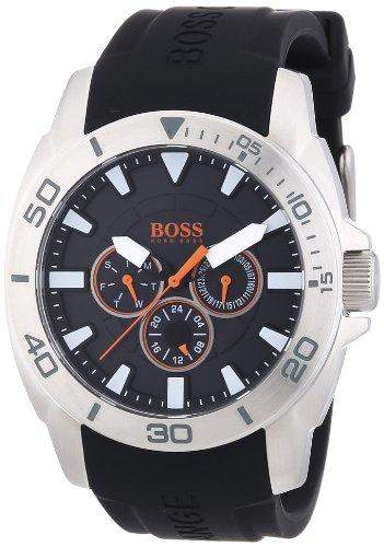 Boss Orange Herren-Armbanduhr XL Big Day Multieye Analog Quarz Silikon 1512950