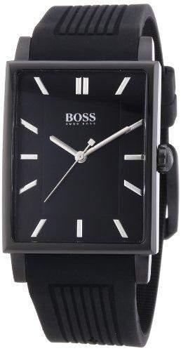 Hugo Boss Herren-Armbanduhr Analog Quarz Silikon 1512953