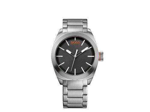 Hugo Boss Herren-Armbanduhr XL Analog Quarz Edelstahl 1512996