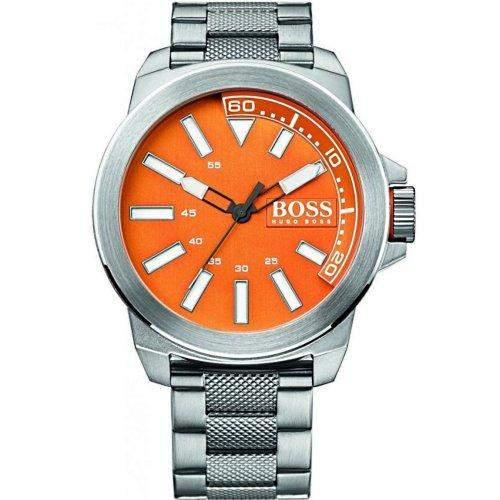 Hugo Boss Herren-Armbanduhr XL Analog Quarz Edelstahl 1513007