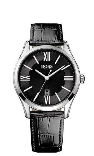 Hugo Boss Herren-Armbanduhr Analog Quarz Leder 1513022