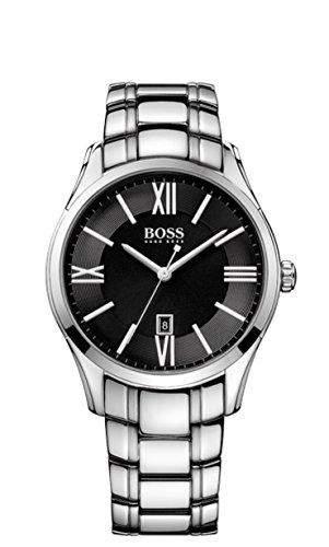 Hugo Boss Herren-Armbanduhr Analog Quarz Edelstahl 1513025