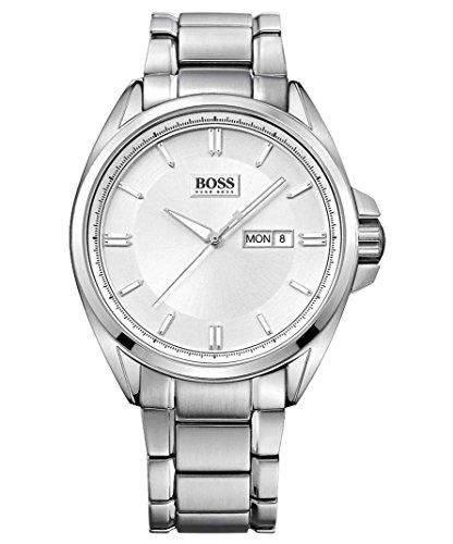 Hugo Boss Herren-Armbanduhr Analog Quarz Edelstahl 1513040