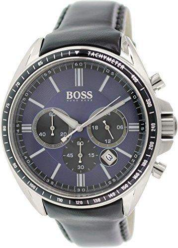 Hugo Boss Herren-Armbanduhr Analog Quarz Leder 1513077