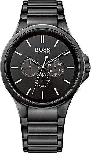 Hugo Boss Herren-Armbanduhr Analog Quarz Edelstahl 1513172