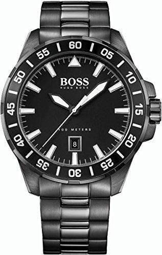 Hugo Boss Herren-Armbanduhr Analog Quarz Edelstahl 1513231