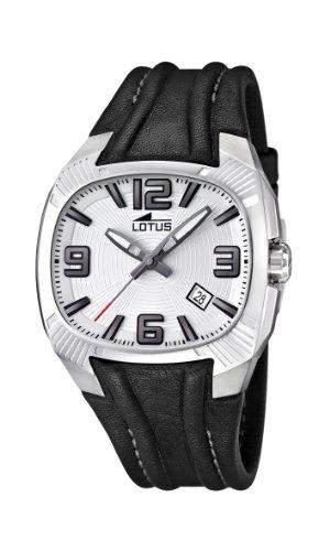 Lotus Herren-Armbanduhr XL Analog Leder 157591