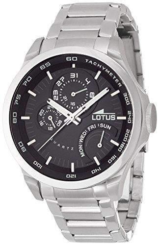 Lotus Herren-Armbanduhr Analog Quarz Edelstahl 158454