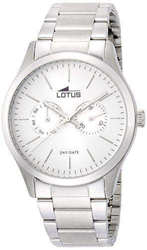 Lotus Herren-Armbanduhr XL Analog Quarz Edelstahl 159541