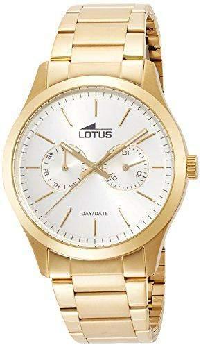 Lotus Herren-Armbanduhr XL Analog Quarz Edelstahl 159551