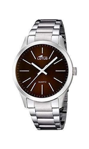 Lotus Herren-Armbanduhr XL Analog Quarz Edelstahl 159592