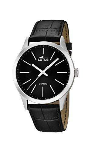 Lotus Herren-Armbanduhr XL Analog Quarz Leder 159613