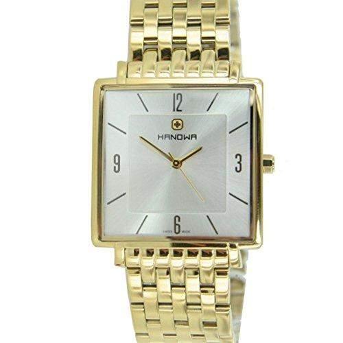 Swiss Military Hanowa Herren Uhr 16-501902001 gold
