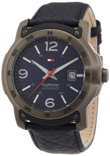 Tommy Hilfiger Watches Herren-Armbanduhr XL Analog Quarz Leder 1790895