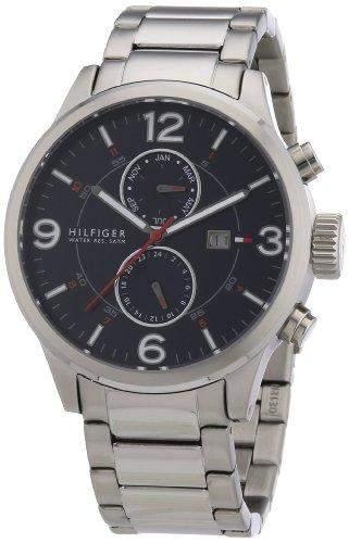 Tommy Hilfiger Watches Herren-Armbanduhr XL Analog Quarz Edelstahl 1790903