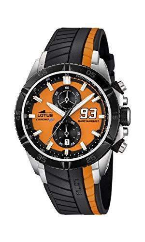 Lotus Herren-Armbanduhr Marc Marquez Analog Quarz Plastik 181031