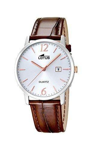 Lotus Herren-Armbanduhr Analog Quarz Leder 182394