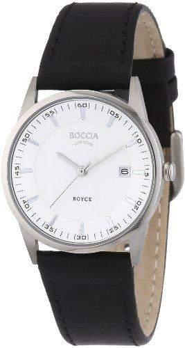 Boccia Damen-Armbanduhr Mit Lederarmband Dress 3184-01