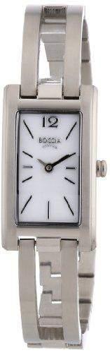 Boccia Damen Armbanduhr Titan Perlmutt 3194-01