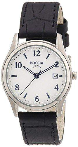 Boccia Damen-Armbanduhr XS Analog Leder 3199-01