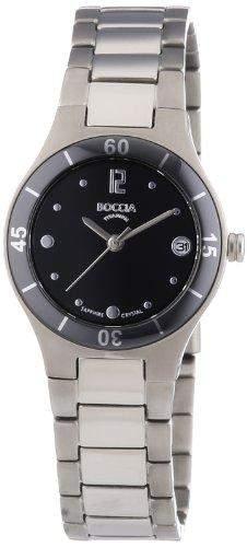 Boccia Damen-Armbanduhr XS Analog Quarz Titan 3204-01