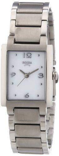 Boccia Damen-Armbanduhr Analog Quarz Titan 3220-01