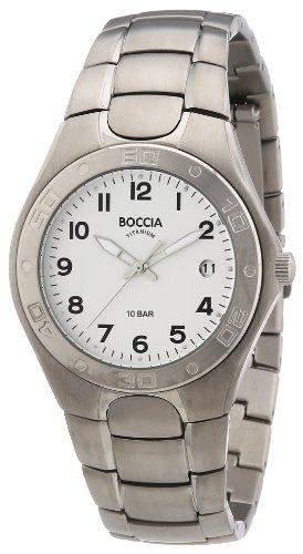 Boccia Herren-Armbanduhr XL Analog Titan 3558-01