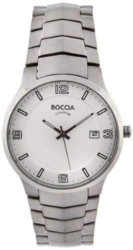 Boccia Herren-Armbanduhr XL Analog Titan 3561-01