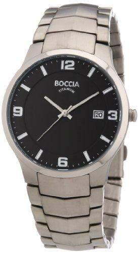 Boccia Herren-Armbanduhr XL Analog Titan 3561-02
