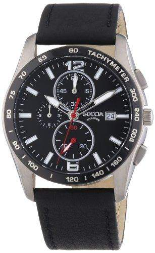 Boccia Herren-Armbanduhr XL Analog Quarz Titan 3767-01