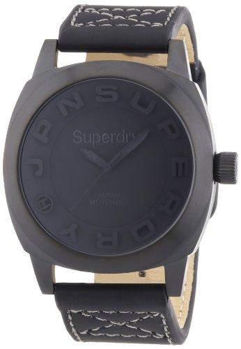 Superdry Herren-Armbanduhr XL Analog Quarz Textil SYG128B
