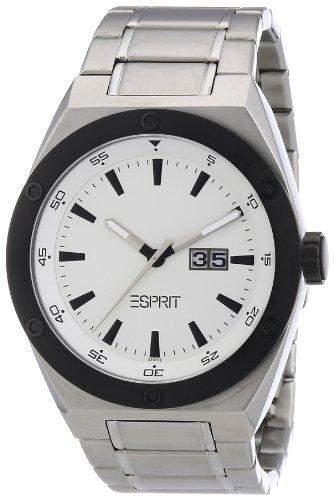 Esprit Herren-Armbanduhr Access Silver silber AES101971004
