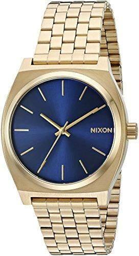 Nixon Herren-Armbanduhr Time Teller Analog Quarz Edelstahl beschichtet A0451931-00