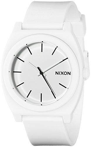 Nixon Unisex-Armbanduhr Time Teller P Analog Quarz Plastik A1191030-00