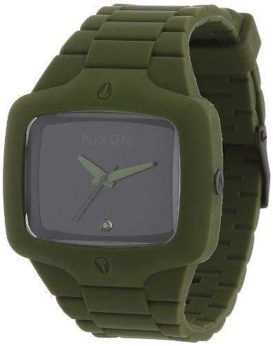Nixon Herren-Armbanduhr Analog Silikon A1391042-00