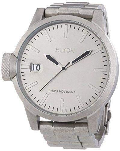 Nixon Herren-Armbanduhr Analog Edelstahl A1981033