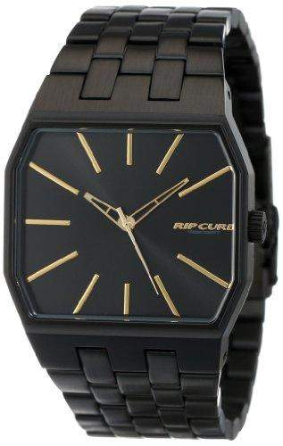 Rip Curl Herren A2694 - MGL Prism Midnight Black Gold Analog Surf Armbanduhr