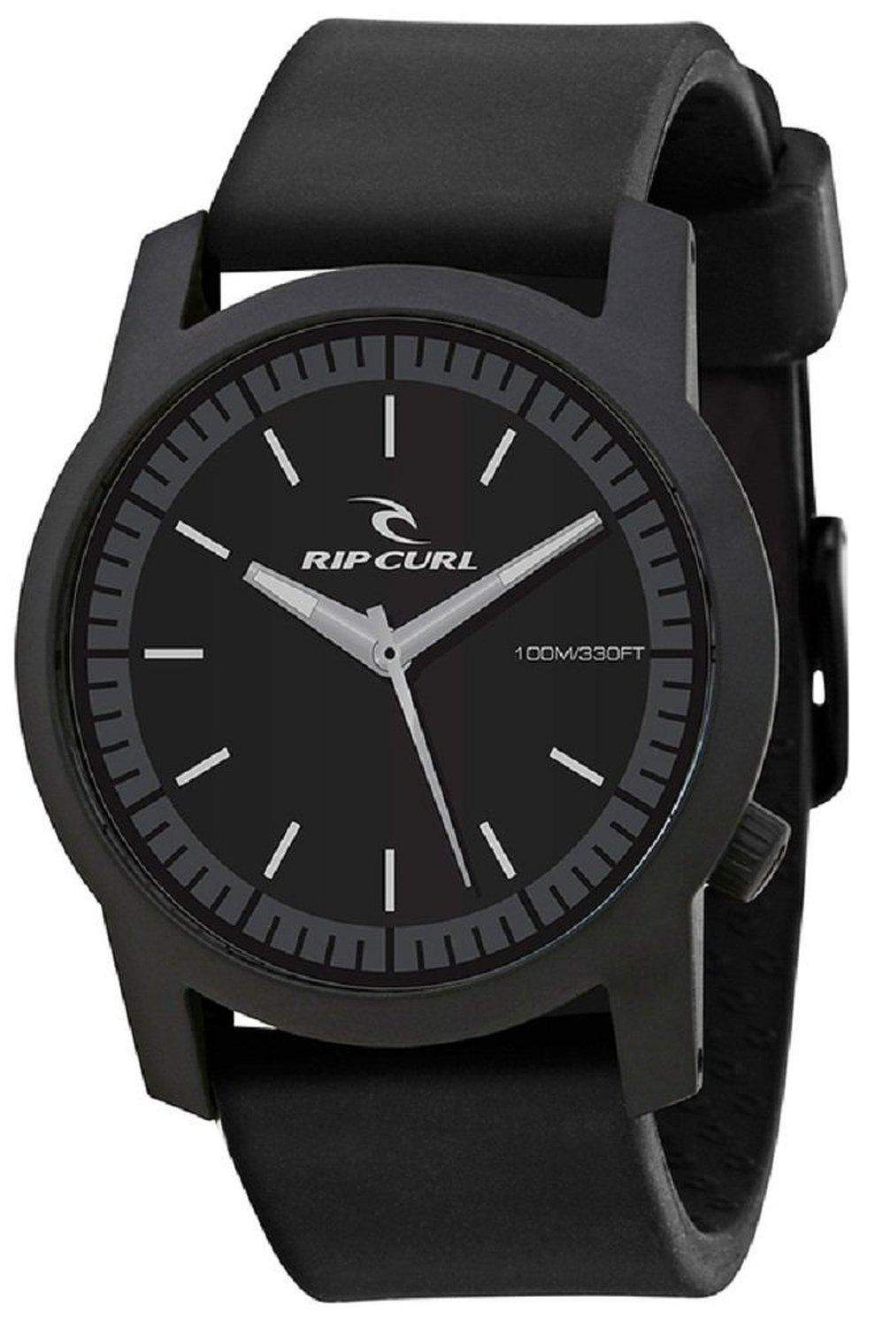 Rip Curl Herren A2698 - BLK Cambridge ABS Silicone Black Analog Surf Armbanduhr