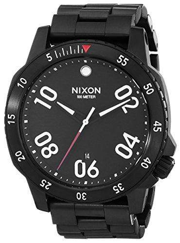 Uhr Nixon The Ranger A506001 Herren Schwarz